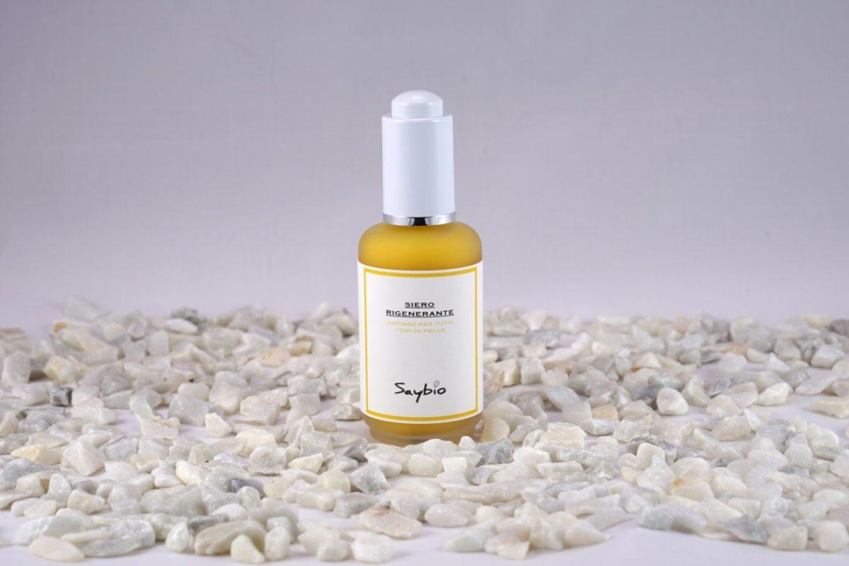 Dispenser siero rigenerante per viso