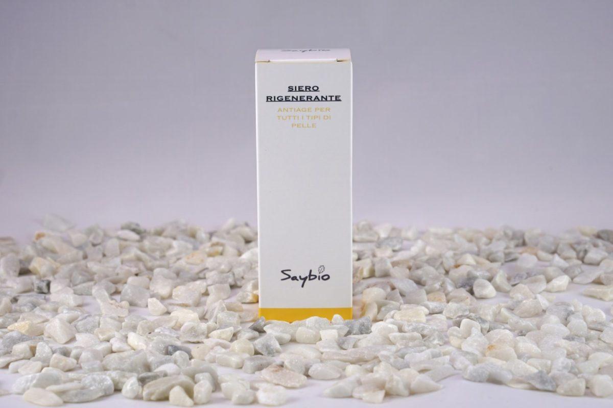 Scatola siero rigenerante per viso